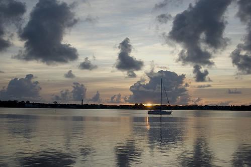 sailboat sunrise florida staugustine saintaugustine staugustinelighthouse theunforgettablepictures