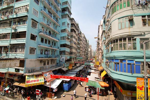 Mongkok Ladies Market - Flickr CC naterobert
