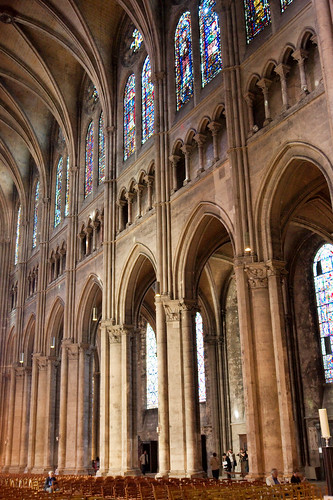 Chartres Cathedral Nave