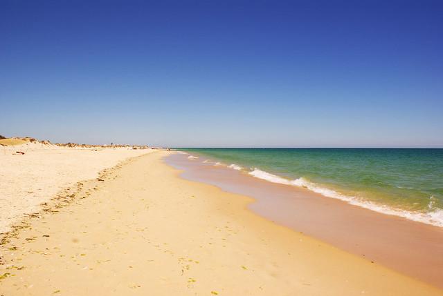 Praia da Ilha de Tavira (Algarve, Portugal)