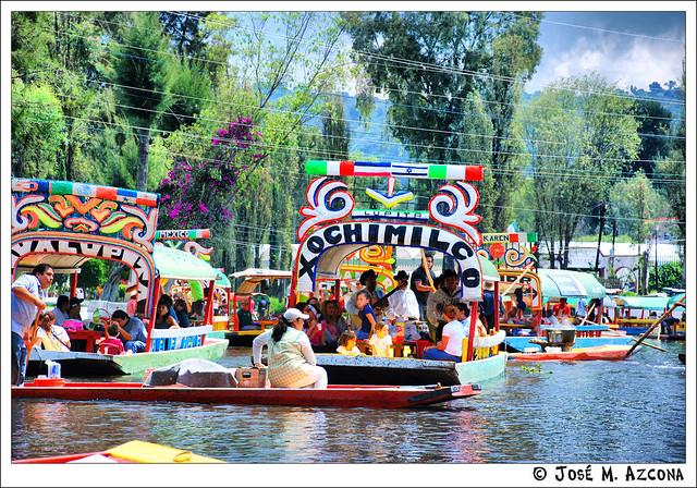 México. Xochimilco.