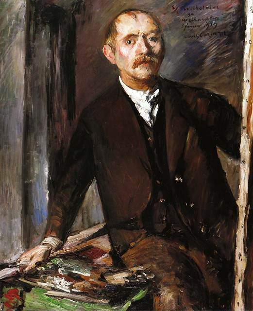 Lovis Corinth: Self-portrait (1919)