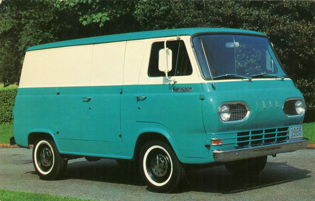 1965 ford econoline van a photo on flickriver 60 S Van 1965 ford econoline van