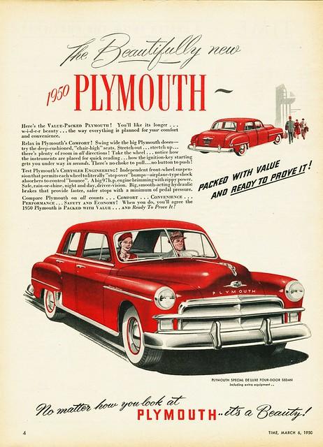 1950 plymouth special deluxe four door sedan canada for 1950 plymouth 4 door sedan