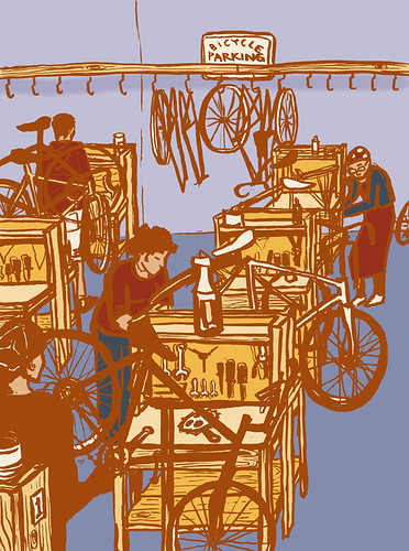bike kitchen birdseye view (color)