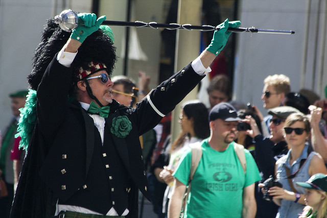 Directing the bagpipes