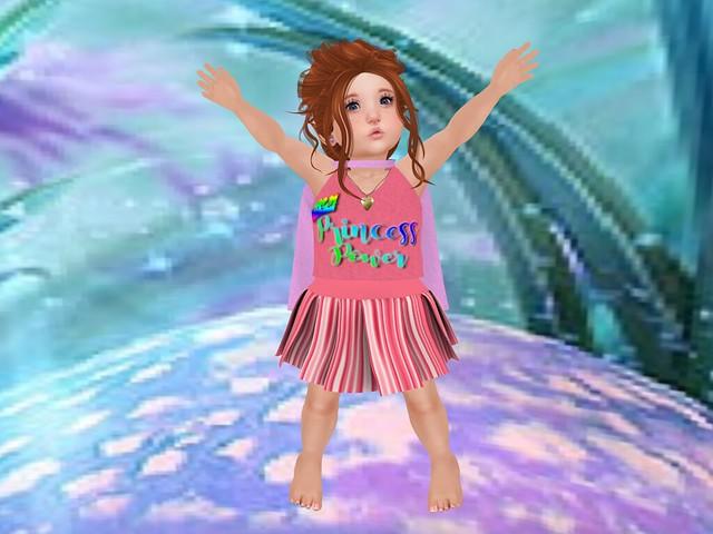 Tiny Tiaras Bowtique Princess Mayson Cheer Superhero - Girl