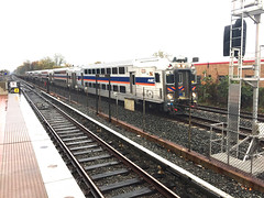 MARC Train Passing Twinbrook
