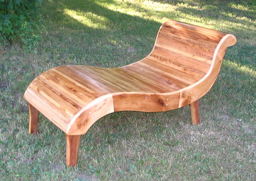 Wooden chaise lounge simple home decoration for Adirondack chaise lounge plans