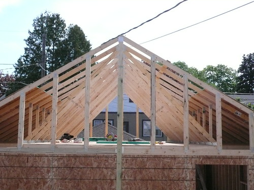 Detached Garage Trusses