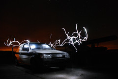 Lightpainting a Fiesta 1