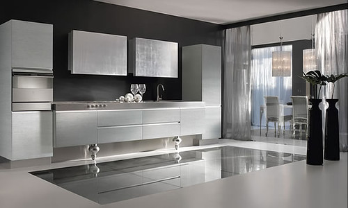 Kitchen interior design modern kitchen design minimalist for Modern kitchen designs 2009