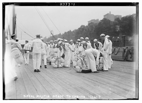 Naval Militia ready to embark  (LOC)