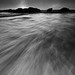 Pescadero in Monochrome - Pescadero State Beach, California