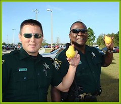 Policemen with Pears