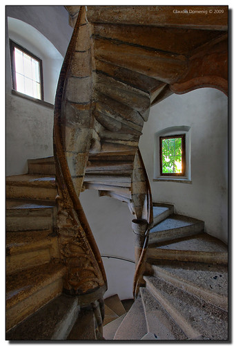 The Gothic Double Spiral Staircase