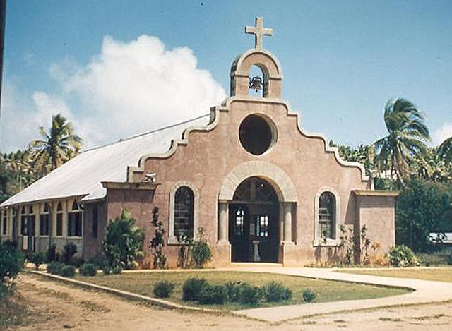 Spanish mission style architecture 1950 flickr photo for Architecture 1950