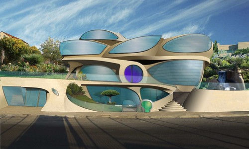 FUTURISTIC HOUSE by Architect Ephraim Henry Pavie