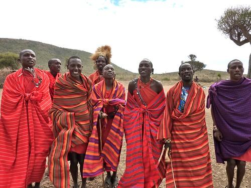 Maasai dance, Kenya