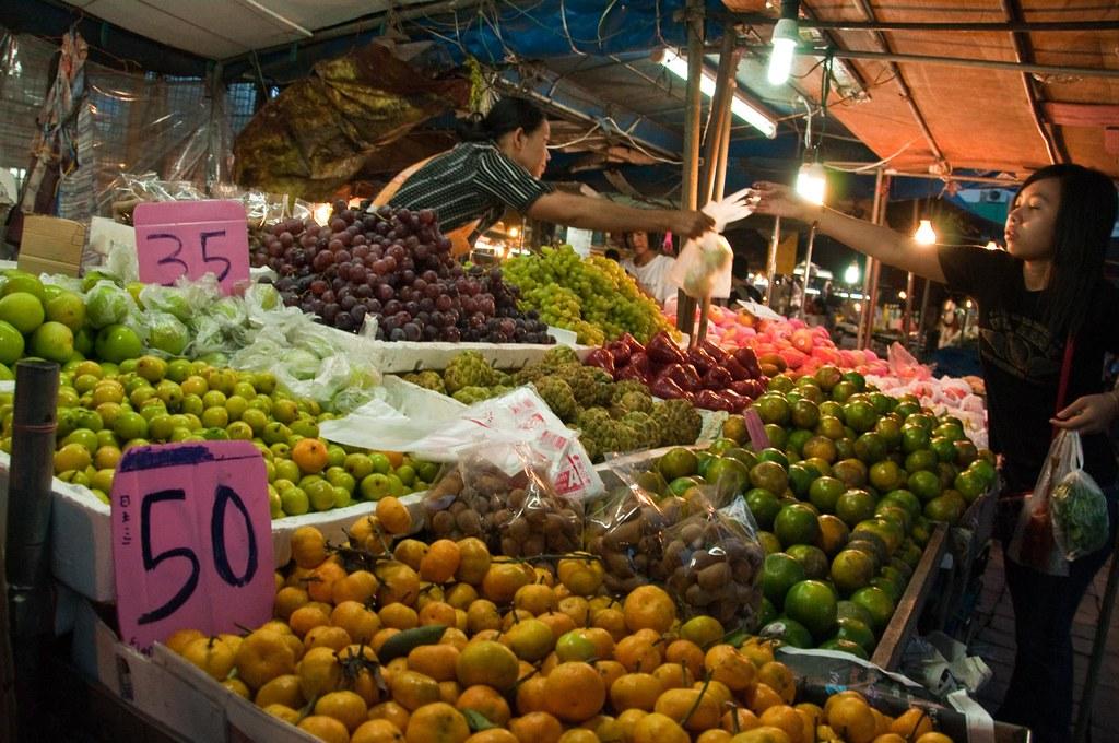 Nachtmarkt in Krabi