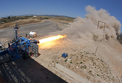 Virgin Galactic Rocket Motor Test