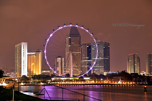 Night Flyer @ Singapore Marina Berrage