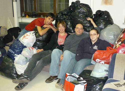 University of Saskatchewan chaplaincy clothes drive