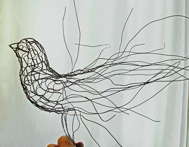 4121600802 a6aace7d4f for How to make a wire sculpture