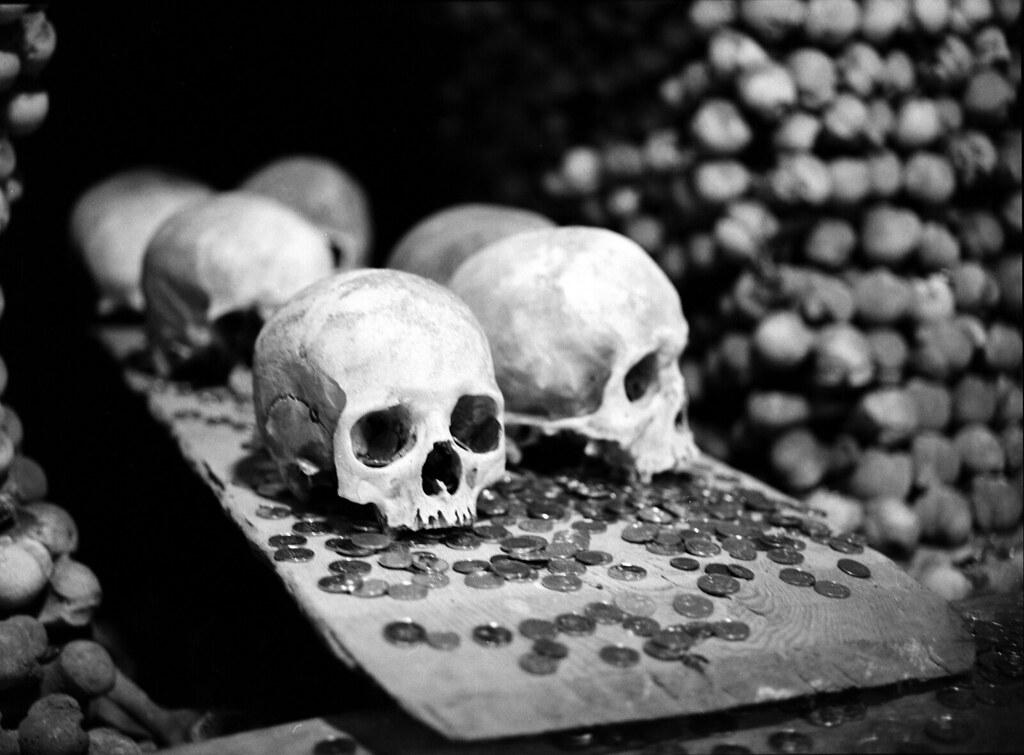 Sedlec Ossuary - Skulls