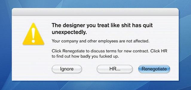 Someone Quit Today. We Found This On His Desktop [Pic]