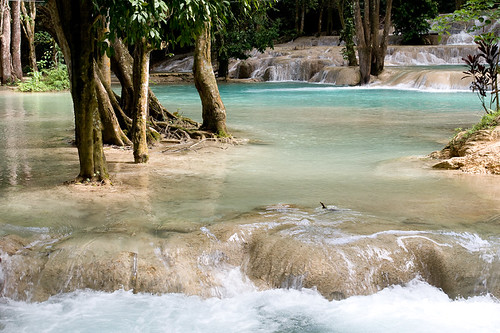 Tat Sae waterfalls, Laos