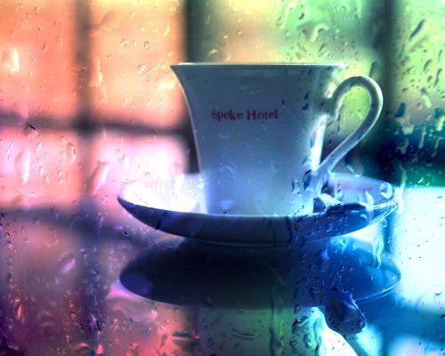africa cup coffee colors rain 35mm hotel bokeh balcony uganda rainyseason f20 speke primelens munyonyo hotelboredom nikond90 texturebyborealnz closetokampala