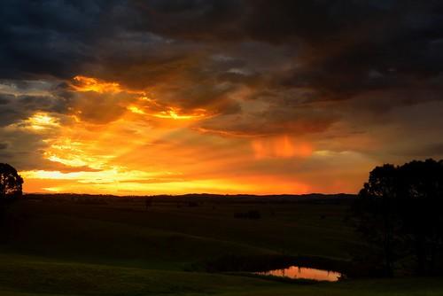 aus australia newsouthwales woodville nikond750 sunset landscape