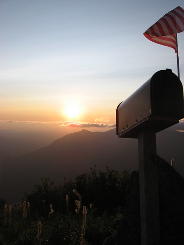 Mailbox Peak - Sunset 1