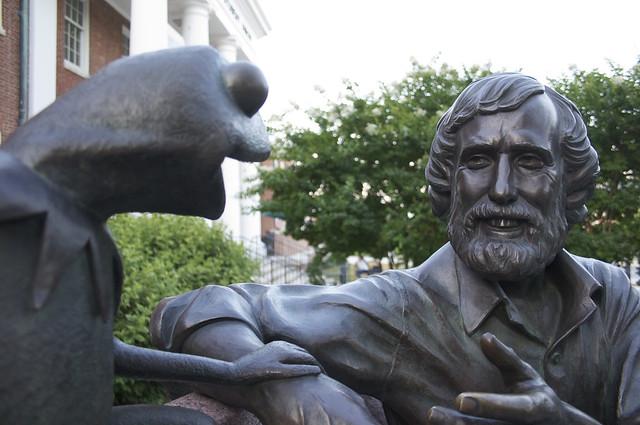 Jim Henson Statue @ UMD