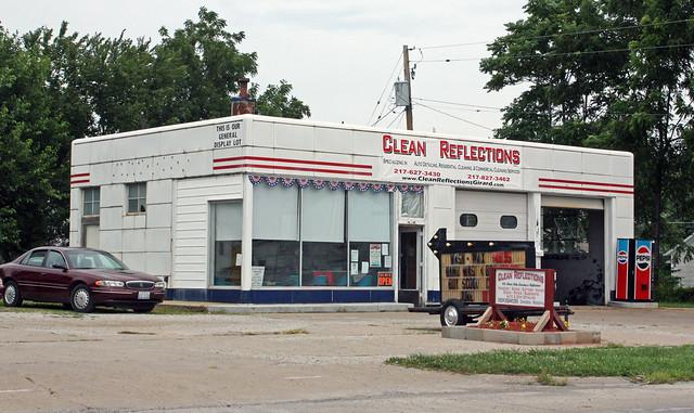 Girard IL - Former Standard Gas Station | Flickr - Photo ...