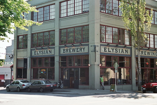 elysian brewery, closer