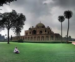 Delhi - Tombe d'Humayun - 28-07-2009 - 17h14