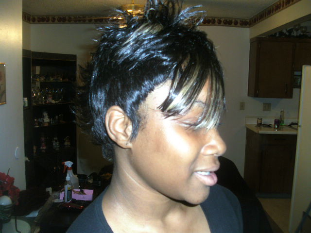 Quick Weave Mohawk Styles http://www.flickr.com/photos/i_braid_hair_in_kc/3842386825/