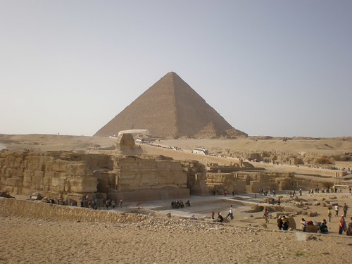 The Great Pyramid in the distance