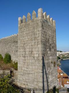 Image of Muralha Fernandina. portugal porto douro