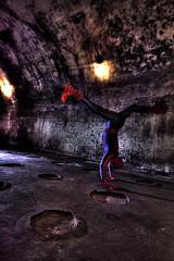 Spider handstand