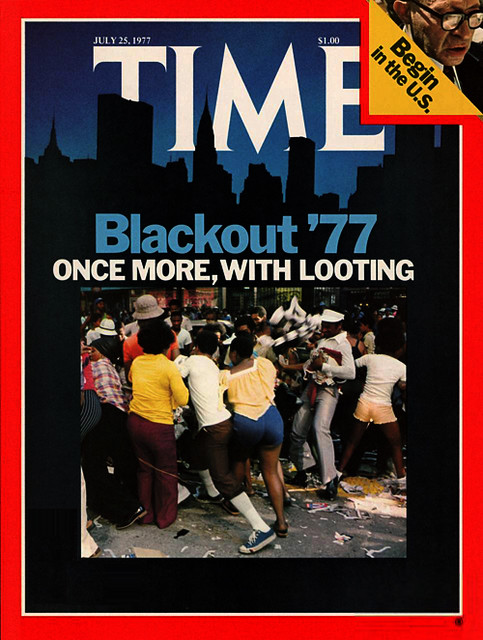 TIME MAGAZINE-BLACKOUT
