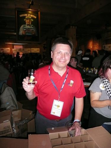 Rick Lyke, Organizer of Rare Beer Tasting @ Wynkoop