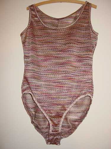 Missoni inspired bodysuit