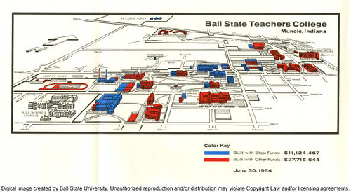 Ball State University Campus Maps Flickr