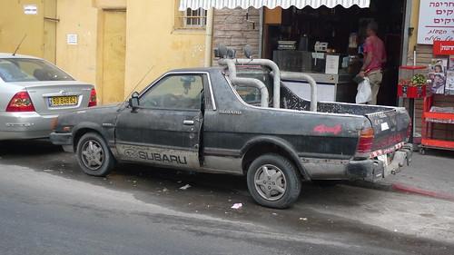 Subaru Brat shop truck