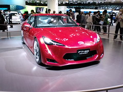 toyota ft-hs(0.0), automobile(1.0), toyota 86(1.0), automotive exterior(1.0), exhibition(1.0), vehicle(1.0), performance car(1.0), automotive design(1.0), auto show(1.0), concept car(1.0), land vehicle(1.0), luxury vehicle(1.0), supercar(1.0), sports car(1.0),