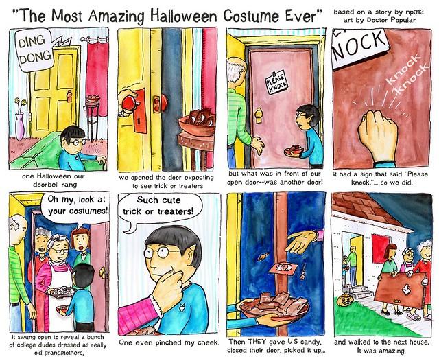 The greatest Halloween costume ever