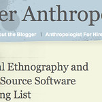 Virtual Ethnography and Open Source Software Reading List » Cyber Anthropology